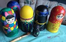 Matryoshka Doll Painting Class