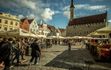 Private Walking + Driving Tour Of Tallinn Shore Excursion