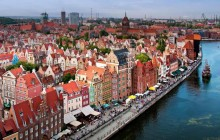 Private Panoramic + Walking Tour of Gdansk + Malbork Castle