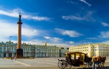 Prime Tour of St Petersburg + 3 Cathedrals + Hermitage Museum