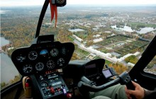 Helicopter Transfer + Tour over City Centre