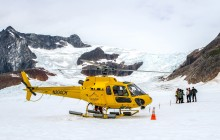 Taku Glacier Adventure by Helicopter, Airboat & Ice