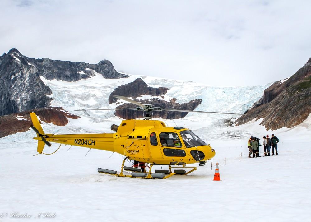 Icefield Glacier Walk + Helicopter Ride Shore Excursion