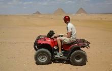 Quad Bike Safari around Pyramids with Private Transfer