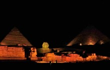 Pyramids + Sphinx Sound And Light Show with Private Transfer