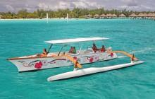 Deluxe Bora Bora Exclusive Outrigger Canoe Tour
