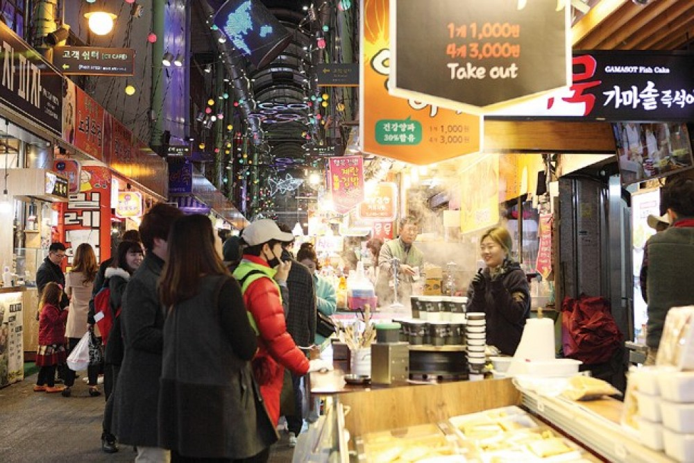 Busan Night Tour (A) with Food Market + Observatory