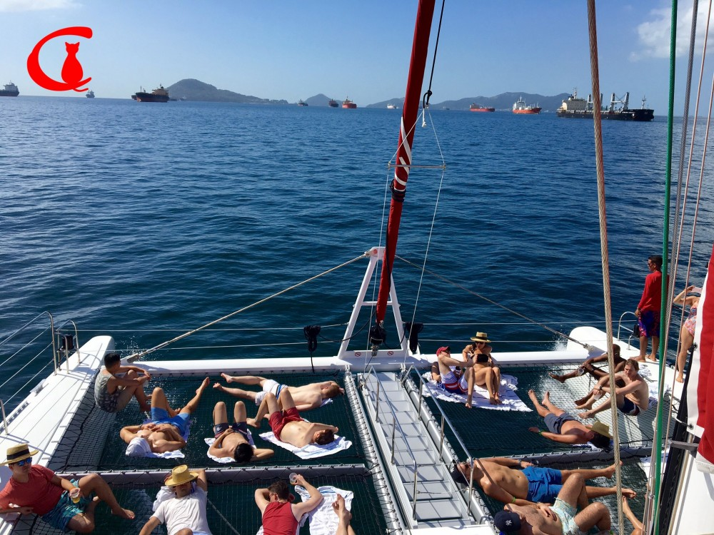 Bay Tour on Catamaran Red Cat