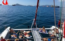 Pearl Islands Sailing Tour on Catamaran Red Cat