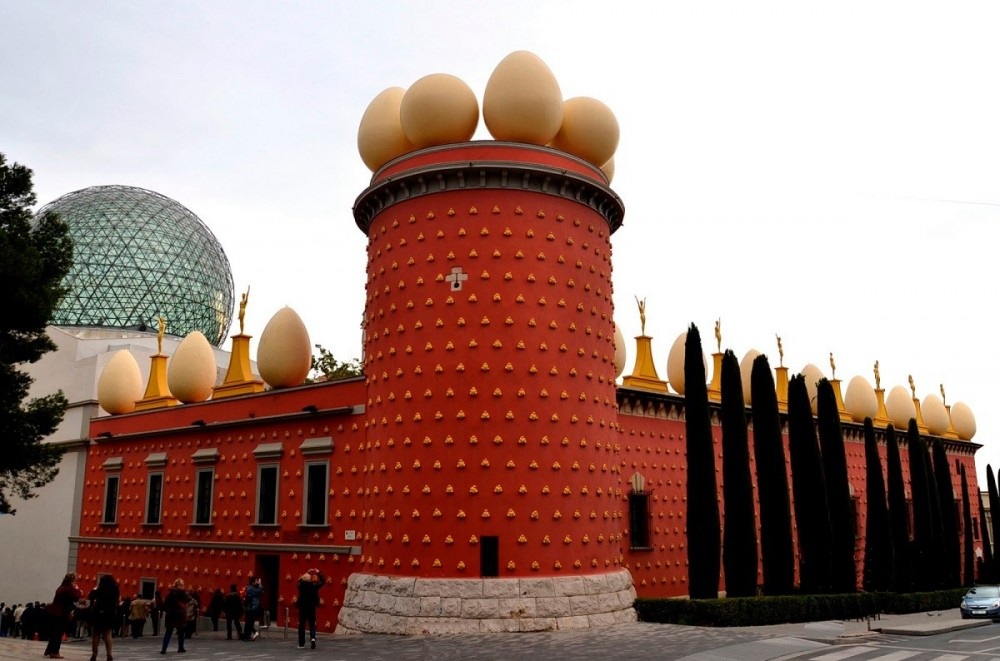 From Barcelona, Girona and Figueres with Dali Museum
