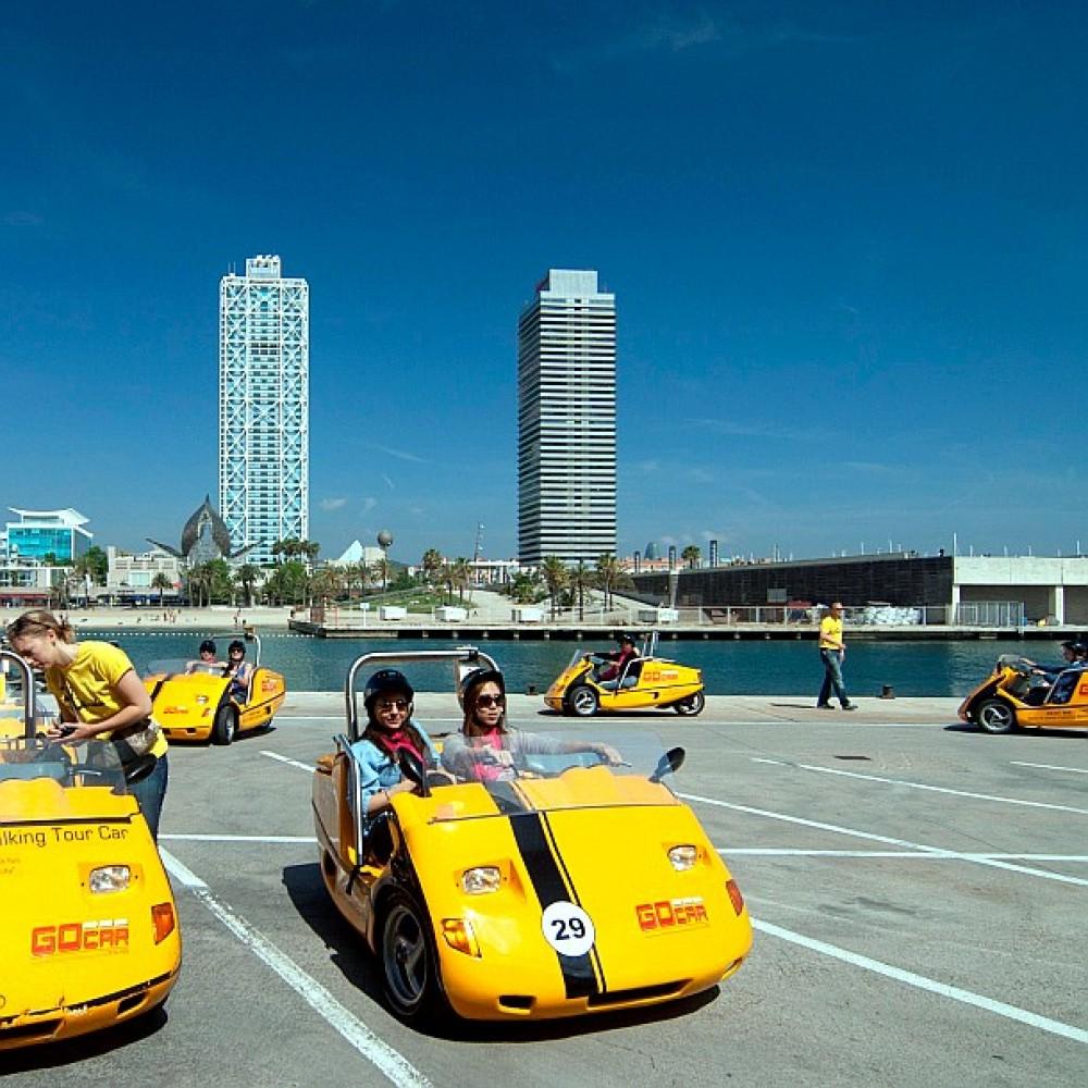 Barcelona GoCar Experience