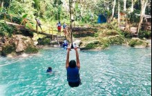 Irie Blue Hole Adventure Tour from Runaway Bay
