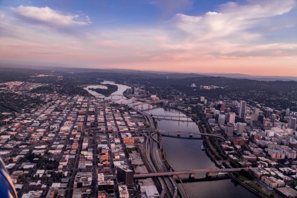 The Portlandia Scenic Flight Tour