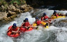 Jungle River Tubing Adventure Tour from Montego Bay