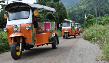 A picture of 3 Day / 2 Night Tuk Tuk and Hill Tribe Adventure from Chiang Mai