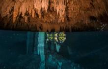 Native Park Tulum -Zip lines, Rappel & Snorkel in a Cenote Cave