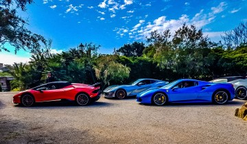 A picture of 3 Day Supercar Tour around Sardinia (Ferrari, Lamborghini)