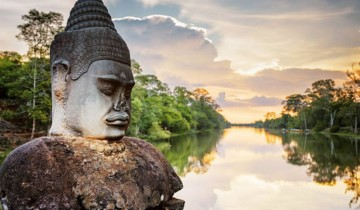 A picture of Angkor Biking, Trekking & Kayaking, Siem Reap Tour (5 Days)