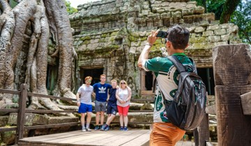 A picture of Small Group Angkor to Phnom Penh By Bicycle Tour (7 Days)