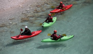A picture of Whitewater Kayak Course On Soca River