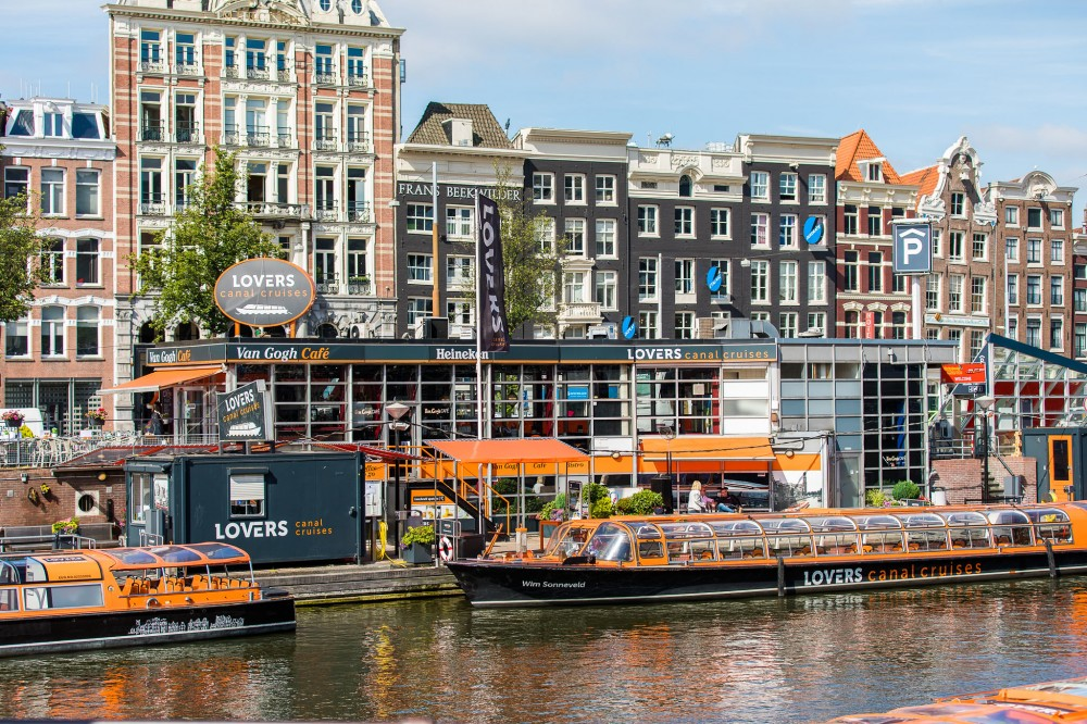 Amsterdam Canal Cruise from Central Station