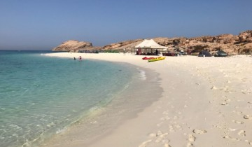 A picture of Camping & Snorkelling at the Daymaniyat Islands
