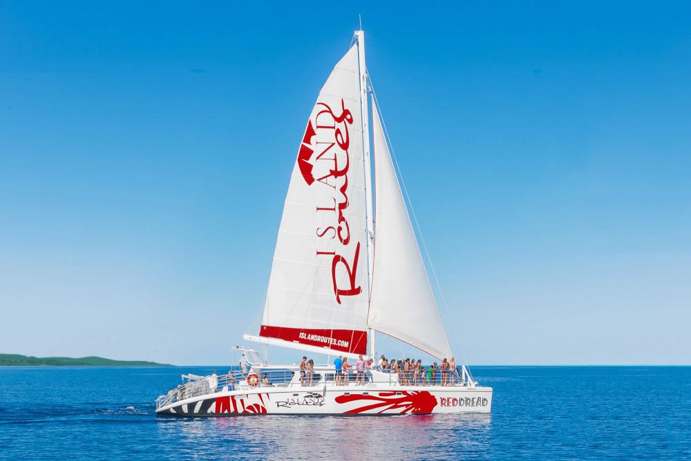 Reggae Catamaran and Snorkeling Cruise from Montego Bay