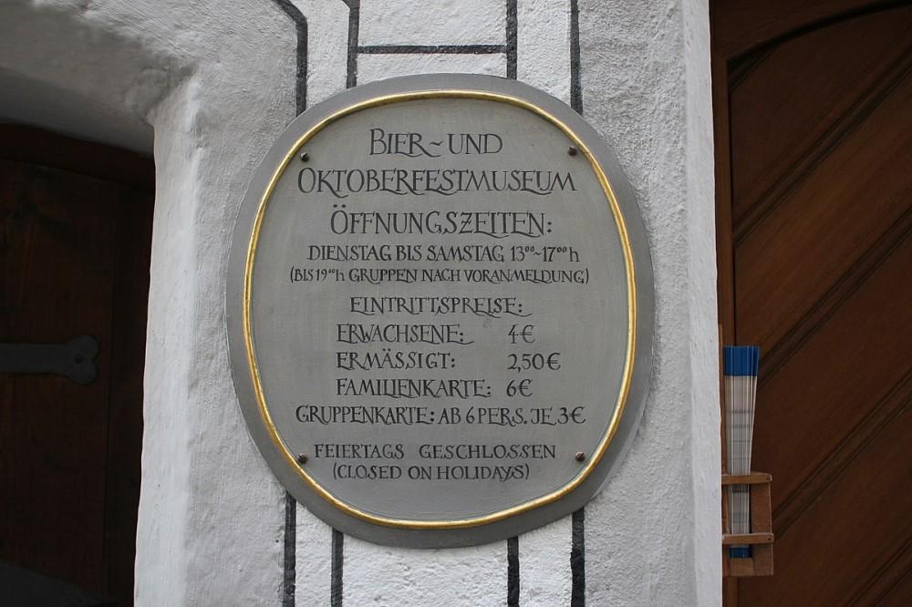Beer and Oktoberfest Museum