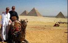 Private Giza Pyramids, Sphinx + Egyptian Museum Day Tour