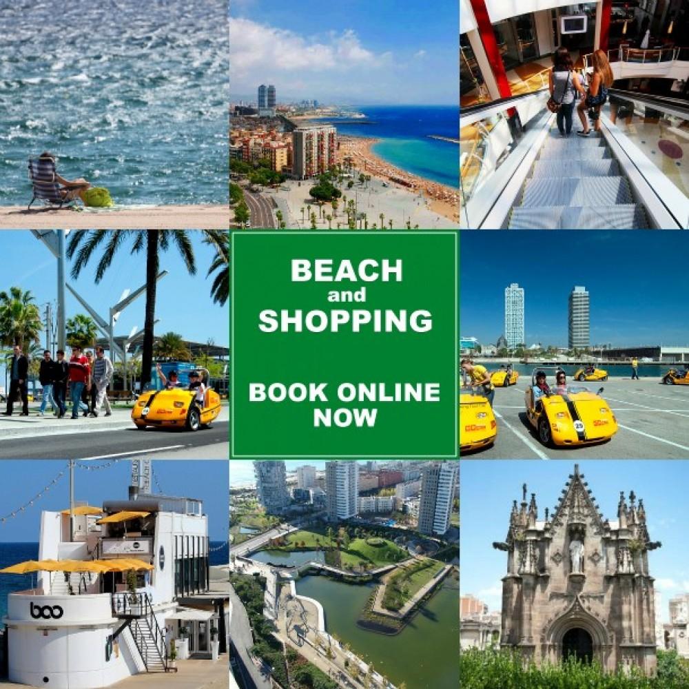 Beach and Shopping GoCar Tour