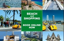 Beach and Shopping GoCar Tour