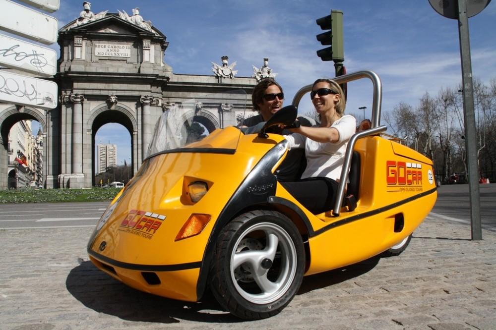 Cosmopolitan Madrid GoCar Tour
