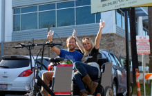 East Austin Brewery All-Inclusive Pedicab Tour