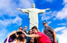 Corcovado, Christ Statue and Copacabana Beach