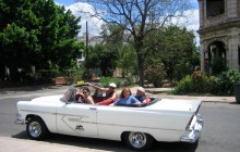 Classic American Car Tour of Havana