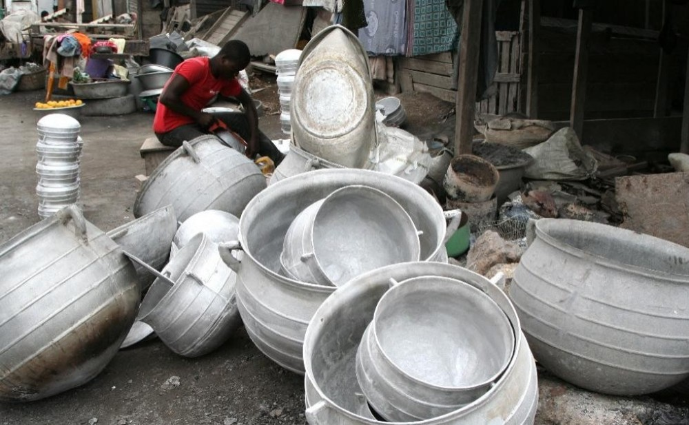 Artistic Side Of Accra - Fishmongers + Traders + Workers