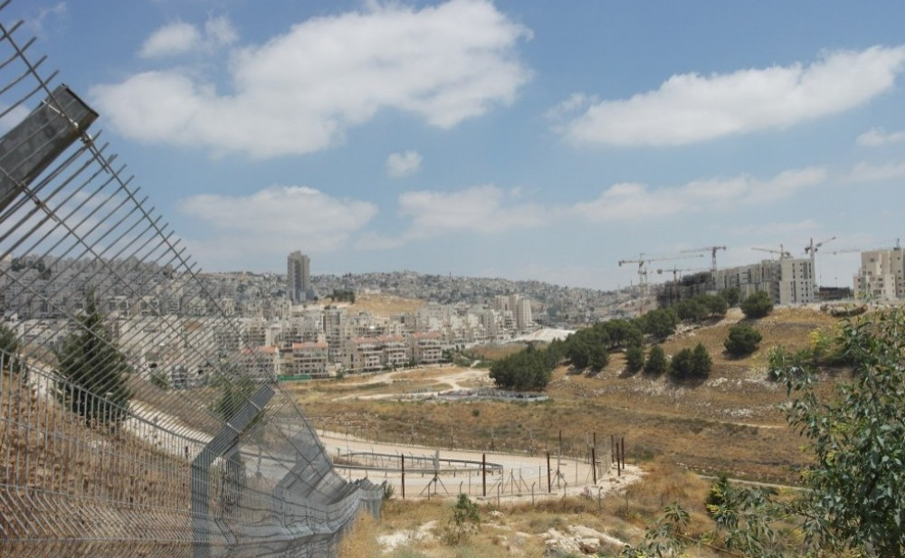 In Focus Occupied Palestine:  Bethlehem Along The Wall