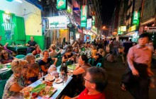 Yangon's Streets by Night