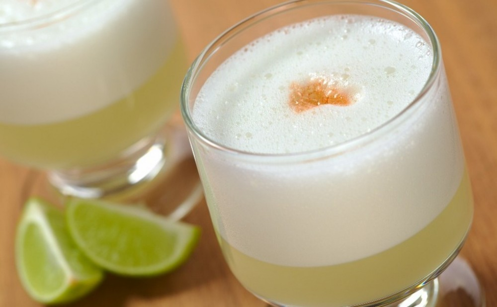 Pisco Sour Making in Cusco