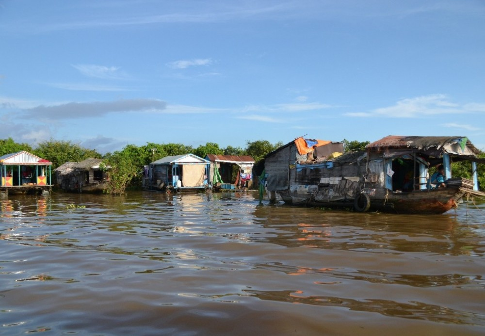 Tonle Sap Lake + Local Secrets by Tuk Tuk