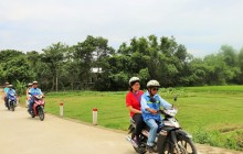 Private Tam Giang Lagoon by Motorbike from Hue