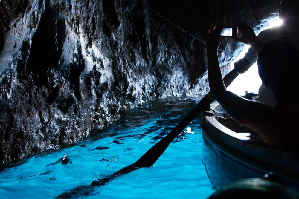 Capri & Anacapri with Blue Grotto from Sorrento