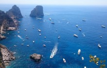 Full Day Capri Island with Blue Grotto from Naples