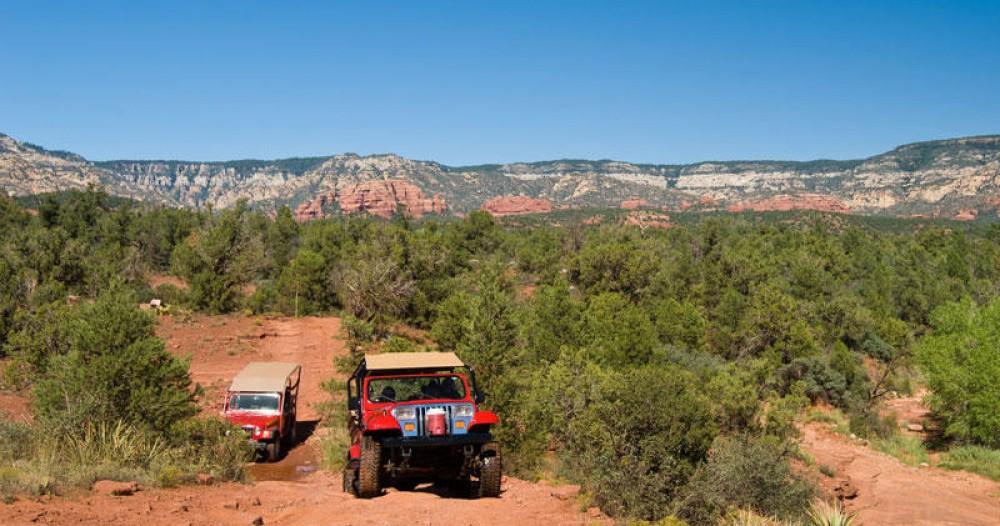 Red Rock Run Sedona Jeep Tour
