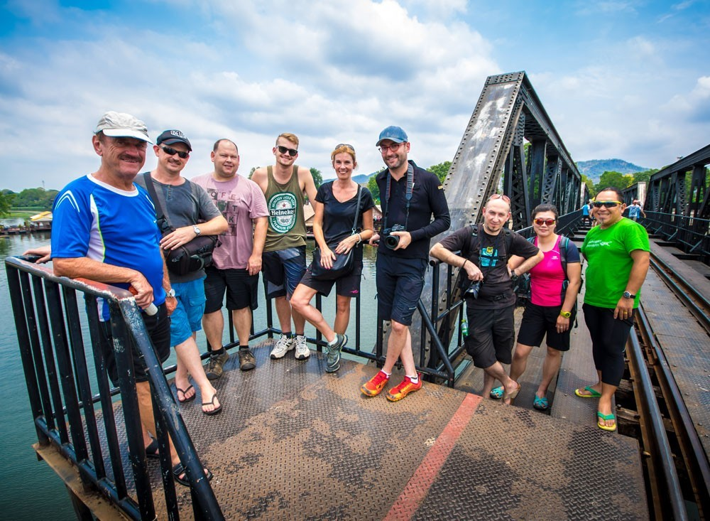 Cycling The River Kwai