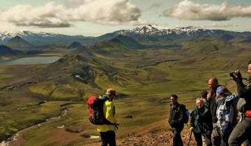 A picture of 6 Day Laugavegur & Fimmvorduhals Hiking Tour (Camping)